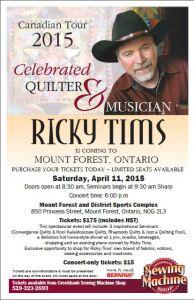 Ricky Tims Seminar