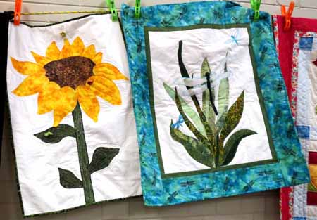 SnT Sunflowers and Dragonflies_M