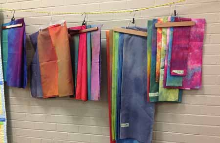 hand dyed fabric_M