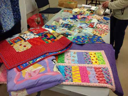 Quilt for refugee families_M
